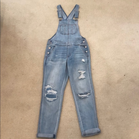 American Eagle Outfitters Denim - American Eagle Tomgirl Overalls XS